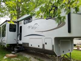 39' Open Range 5th Wheel
